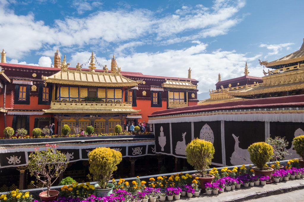 Der Jokhang Tempel von Innen