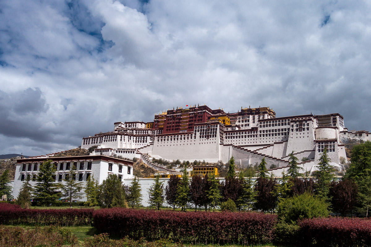Der Potala Palast in Lhasa