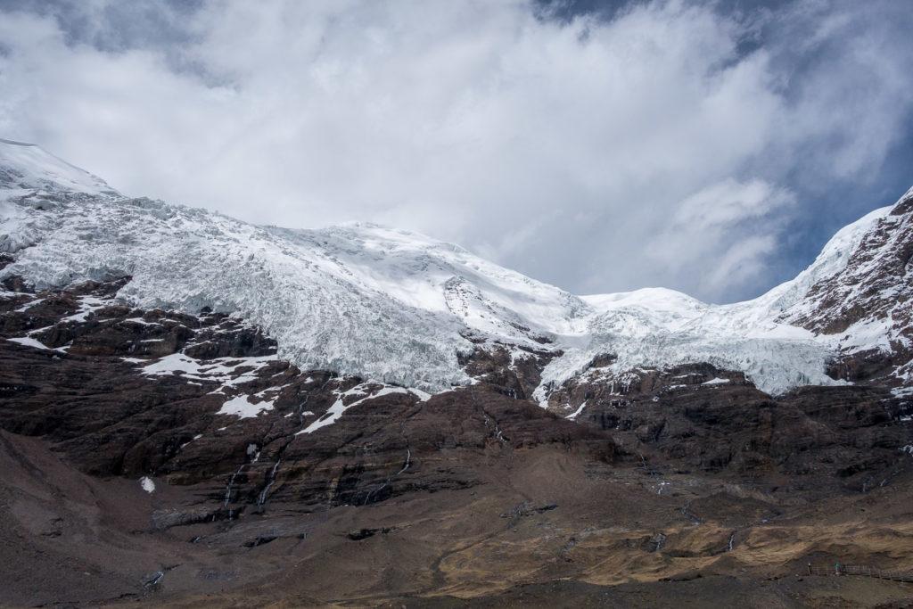Kharo La Gletscher