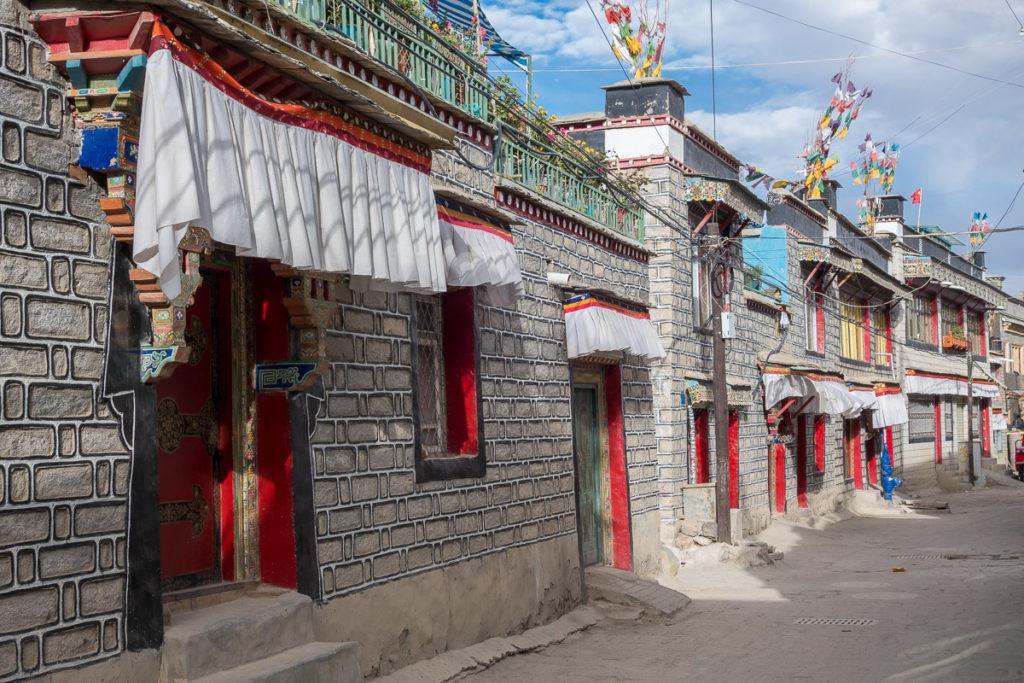 Strasse in Gyantse