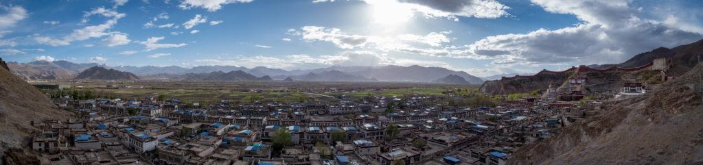 Panorama von Gyantse