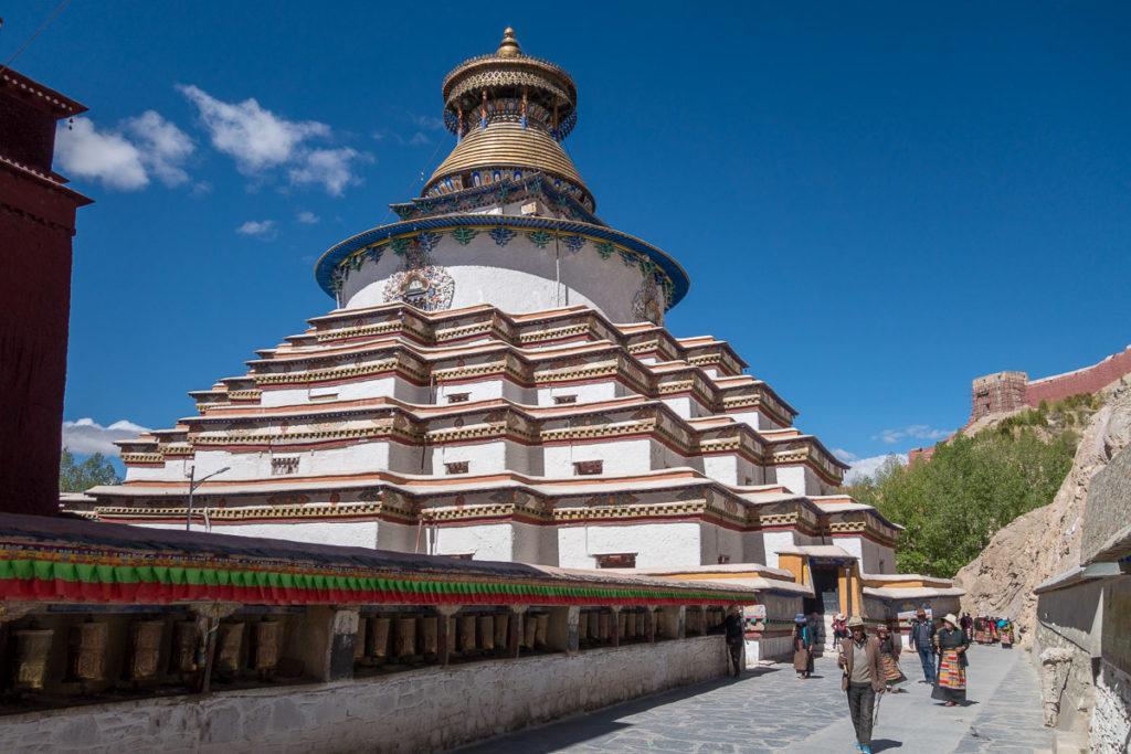 Stupa im Kloster von Gyantse