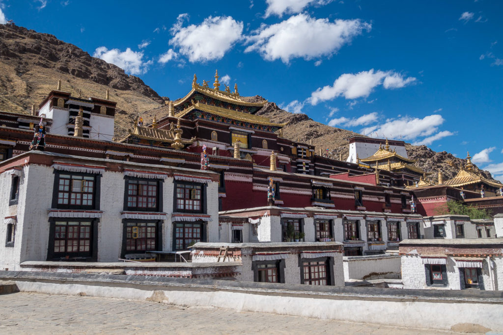 So sieht das Kloster Shigatse aus