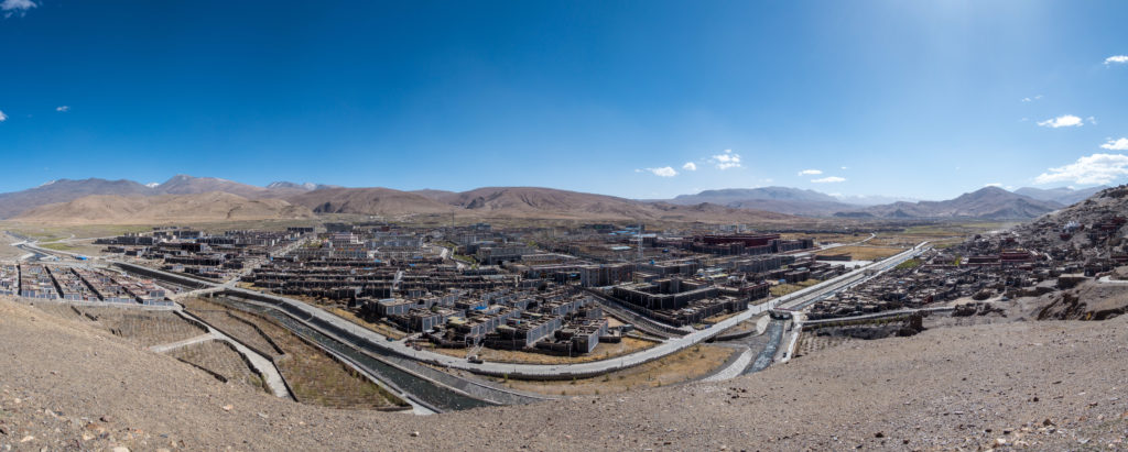 Panorama von Sakya
