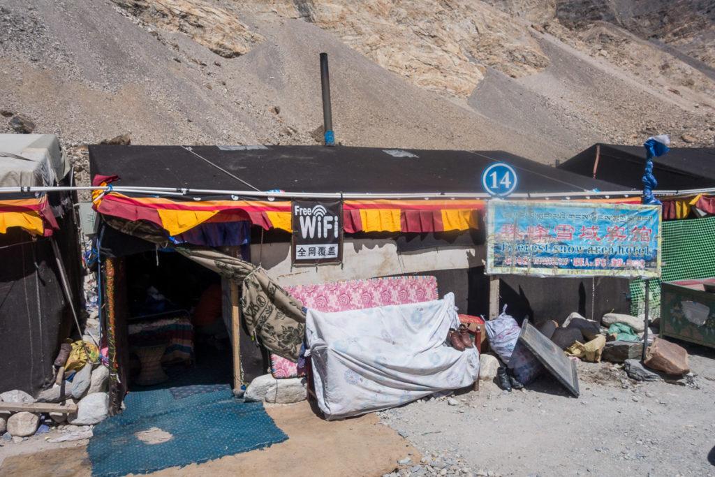 Unser Zelt im Everest Basecamp