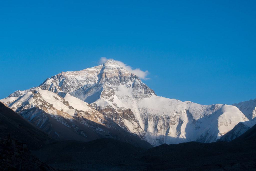 Der Mt. Everest, in seiner ganzen Pracht