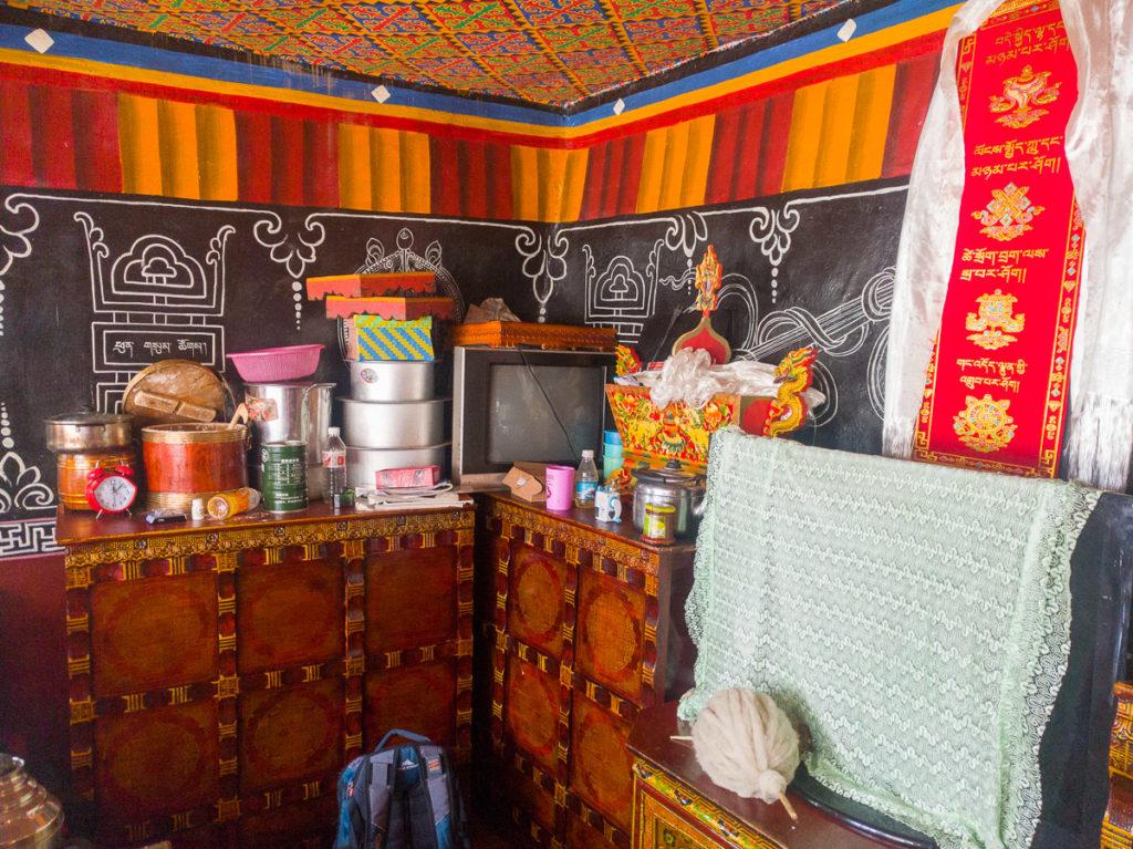 Was es so gibt in einem tibetischen Haushalt...