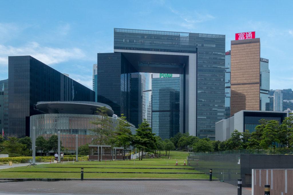 Verwaltungs-, Regierungs- und Paralmentsgebäude von Hong Kong