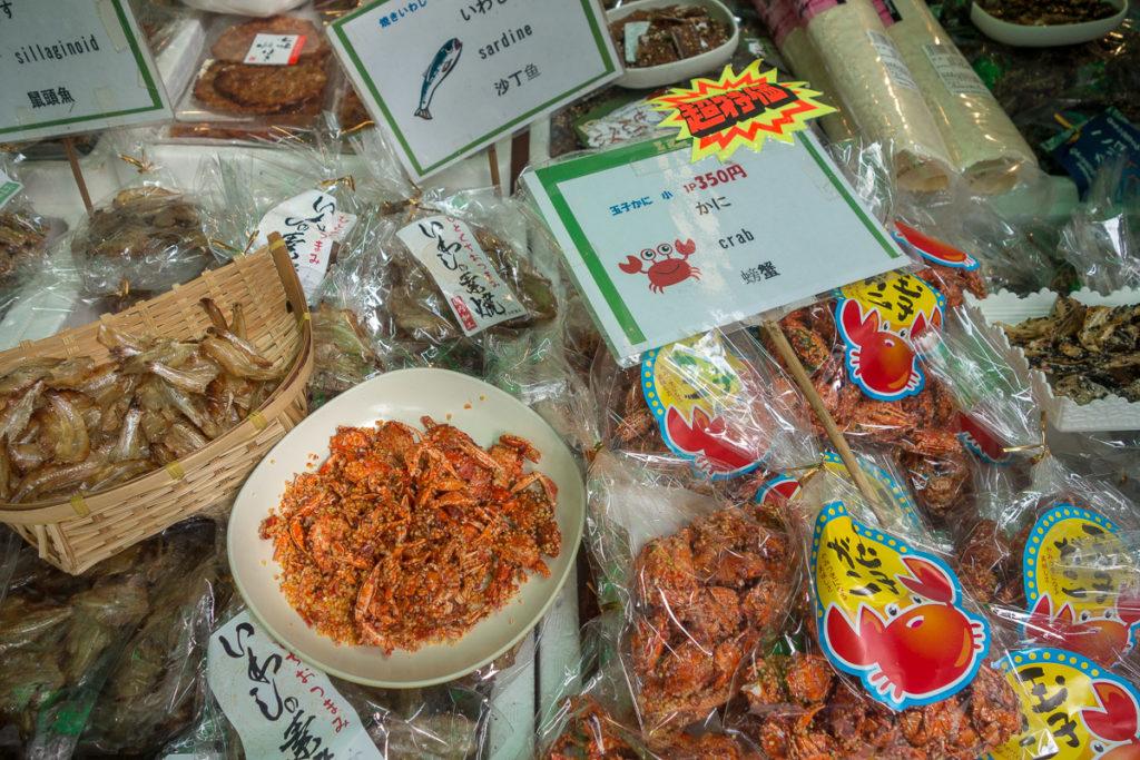 Produkte die das Meer hergibt, in allen erdenklichen Arten und zuständen