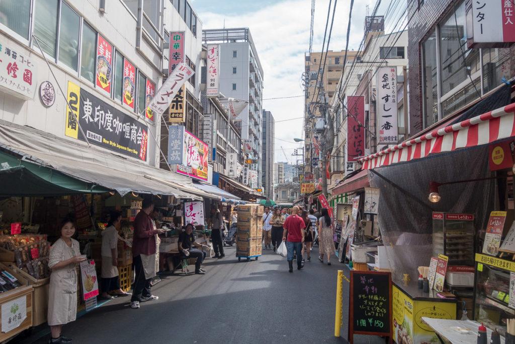Der Markt in Tokyo