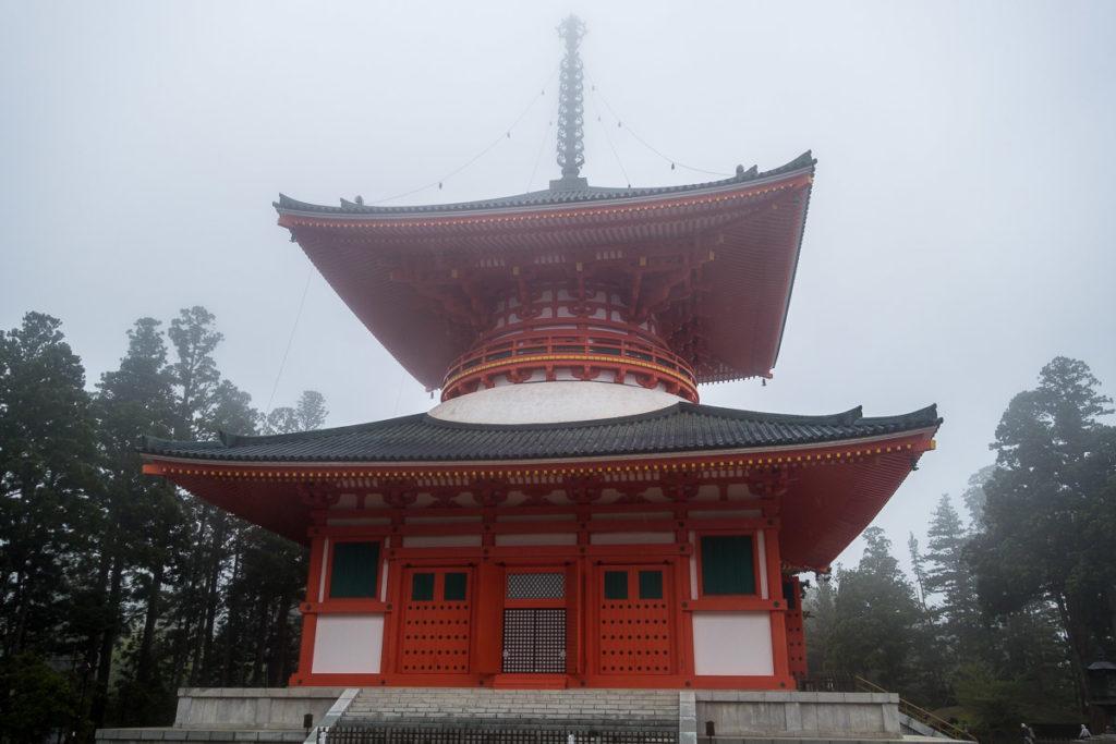 Konpon Daito Pagoda beim Garan Tempel