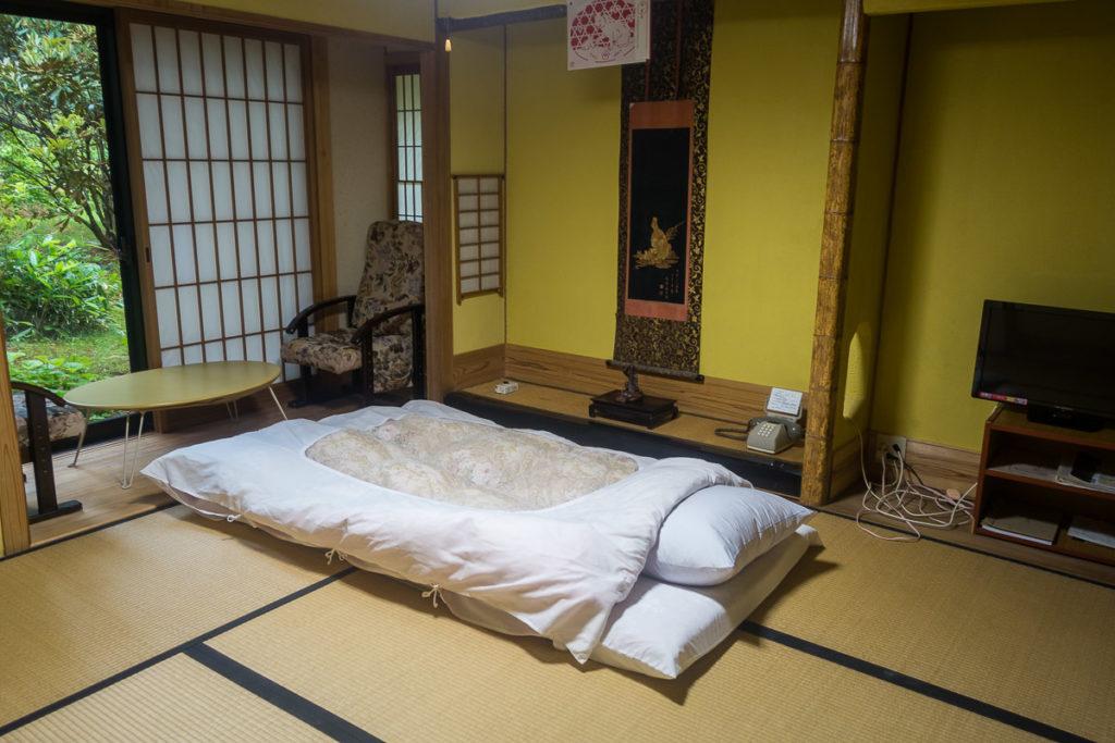 Mein Schlafgemach im Tempel